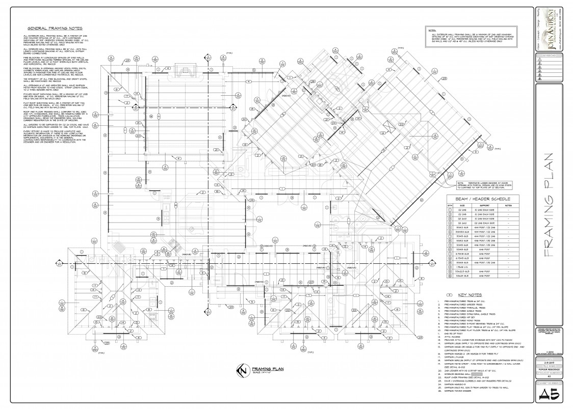 Construction plan set by john anthony drafting and design for Design construction